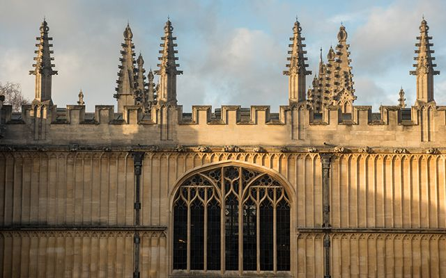 The Old Bodleian Library in Oxford