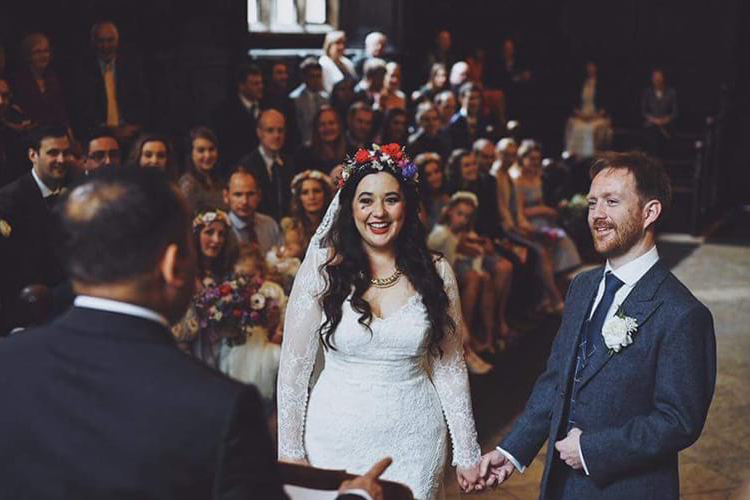 Wedding at the Old Bodleian Library