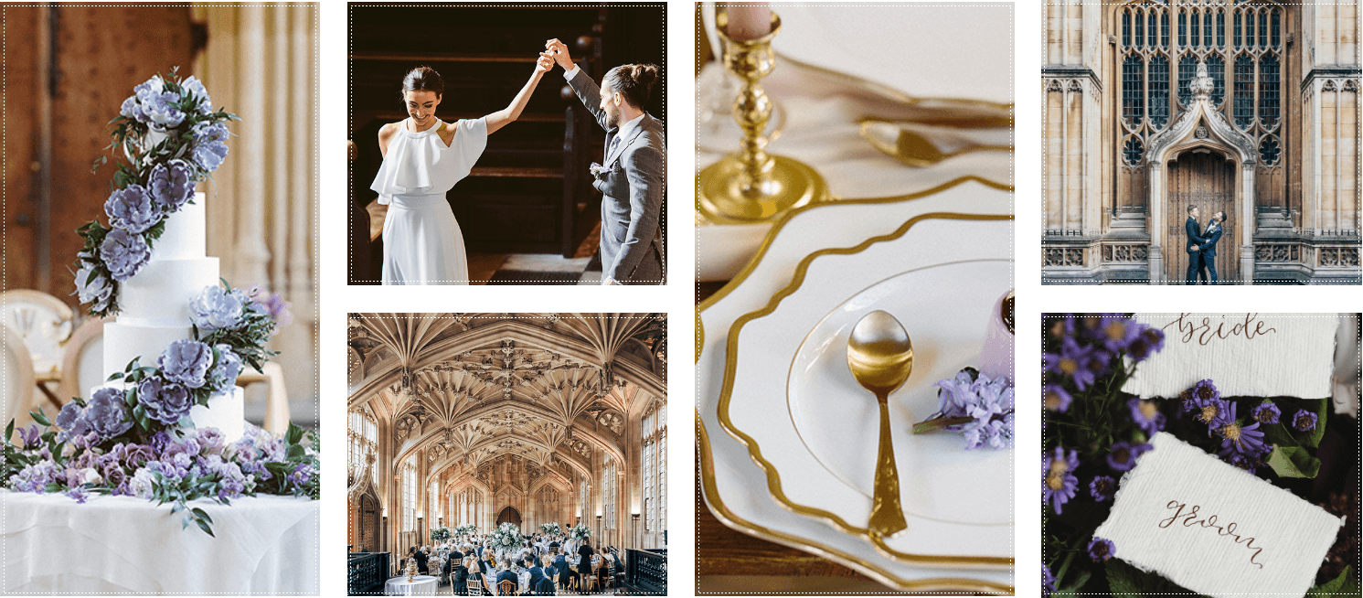 Wedding at the Bodleian Library