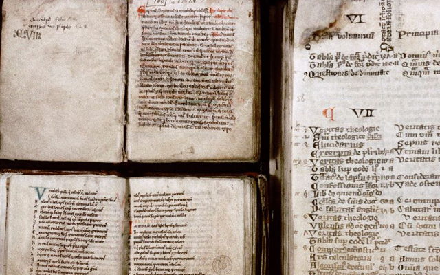 Miscellaneous manuscripts linked to library of St. Martin's Priory, Dover.