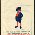 buy war savings certificates