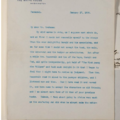 Body text of a type-written from Theodore Roosevelt to Grahame, dated 1909