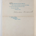 End of a typewritten letter to Kenneth Grahame signed Theodore Roosevelt
