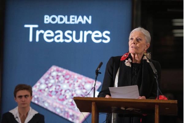 Vanessa Redgrave CBE reading excerpts from Percy Bysshe Shelley's Poetical Essay on the Existing State of Things