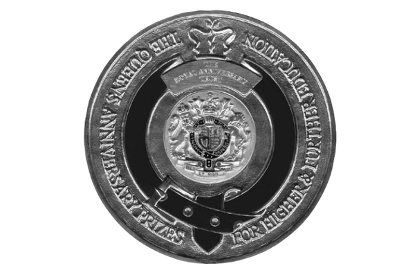 Queen's Anniversary Prize medal