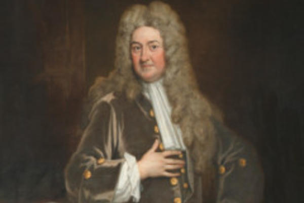 Portrait painting of John Radcliffe