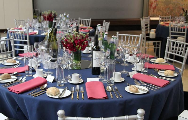 Corporate event at Blackwell Hall, Weston LIbrary