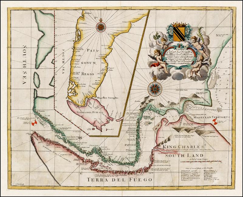 Image of a seventeenth century map