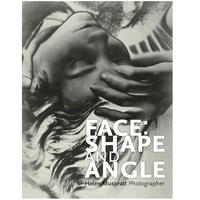 A book cover - the title is in white over a solarised photograph of a woman's head leaning back - she touches her hand to her forehead