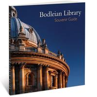 Front cover of the Bodleian Library Souvenir Guide showing a detail of the Radcliffe Camera